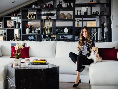 Modacı Selma Çilek evinin kapısını InStyle Home Dergisi'ne açtı!