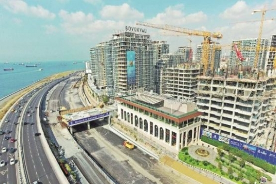 Büyükyalı'da inşaat hızla devam ediyor!
