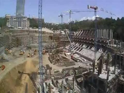 Vodafone Arena Stadyumu'nun inşaat çalışmaları canlı yayından izlenebiliyor!