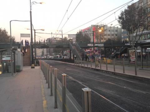 Aksaray-Yusufpaşa tramvay istasyonu yaya üstgeçidi kaldırılıyor!