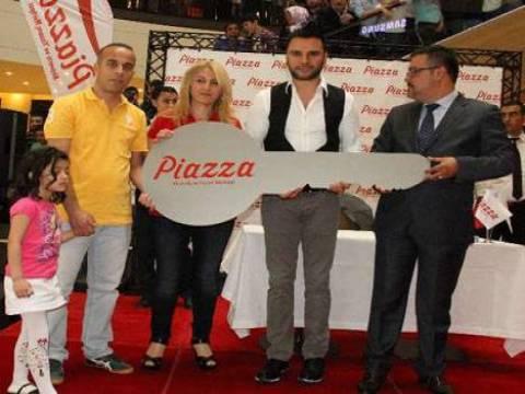 Kahramanmaraş Piazza'da Evlendiren Kampanya'sının talihlisi belirlendi!