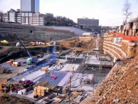 Vodafone Arena inşaat çalışmaları sürüyor!
