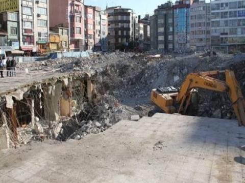 Aksaray İSKİ binasının yıkıldığı alan ne yapılacak?