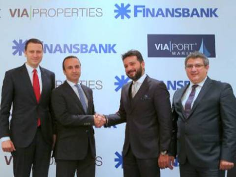 Finansbank'tan Via Properties'e 125 milyon Euro'luk destek!