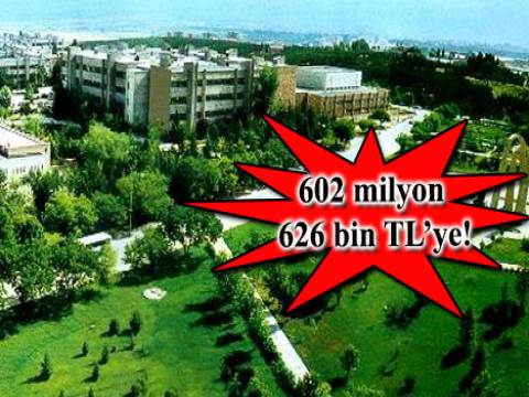 Hacettepe Üniversitesi'nden Beytepe Yerleşkesi'nde dev ihale!