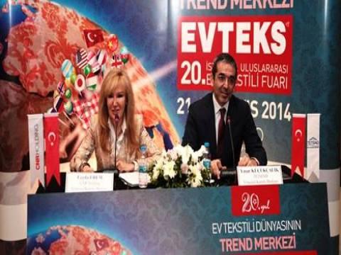 EVTEKS Uluslararası Ev Tekstili Fuarı 21 Mayıs'ta başlıyor!