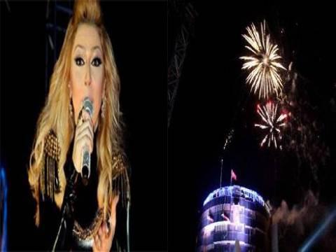 Aydın Atatürk Kent Meydanı açıldı! Hadise konser verdi!