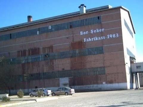 Niğde Bor Şeker Fabrikası arazisi imar planında değişiklik!