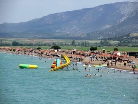Beyşehir Gölü'nde