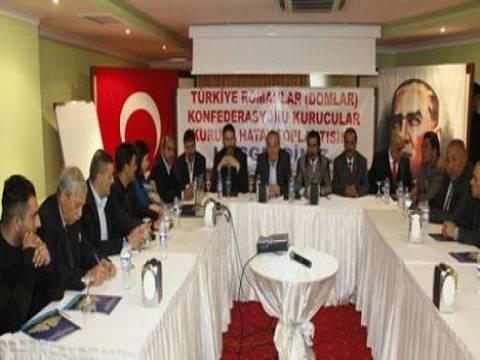 Türkiye Romanlar Konfederasyonu toplantısının gündeminde kentsel dönüşüm vardı!