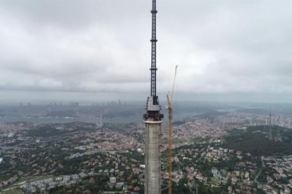 Çamlıca Kulesi 2019 yılının Temmuz ayında açılacak!