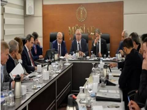 TOKİ Başkanı Turan MÜSİAD Ankara üyeleriyle görüştü!