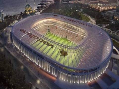 Türkiye'nin ilk çevreci stadı Vodafone Arena!