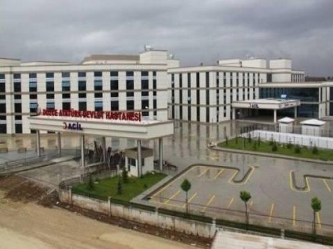 Düzce Atatürk Devlet Hastanesi'nin açılışı 19 Eylül'de!