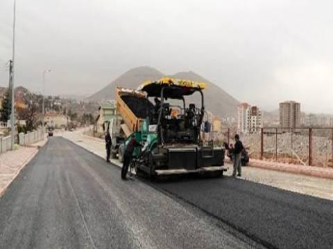 Kayseri Yenibağlar Caddesi'nde yol çalışmaları tamamlandı!