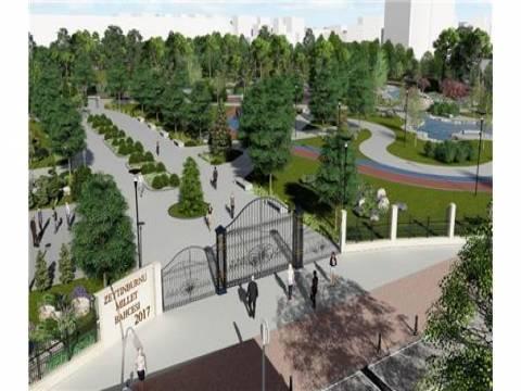 TOKİ Zeytinburnu'na Millet Bahçesi inşa edecek!