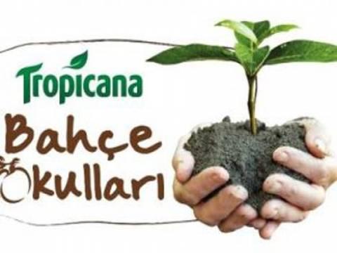 Tropicana'nın Bahçe Okulları Projesi, Bursa'da hayata geçirildi!