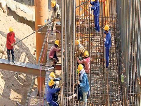2014'te inşaat sektörü yüzde 7,6 istihdam sağladı!