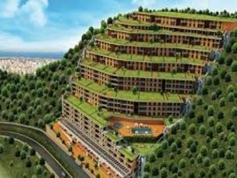 Narlıdere Asma Bahçeler konumu ve mimariyle dikkat çekiyor!