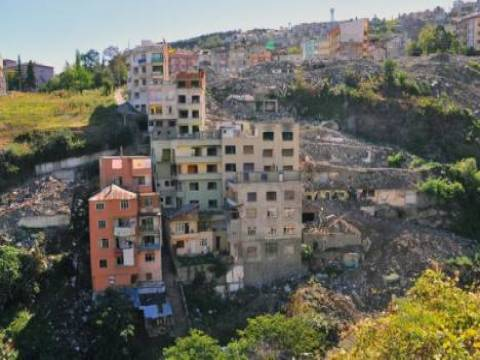 Trabzon Tabakhane'de 535 binanın kamulaştırılması tamamlandı!
