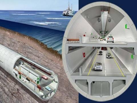 3 Katlı Büyük İstanbul Tüneli'nin ihalesi 14 Aralık'ta!