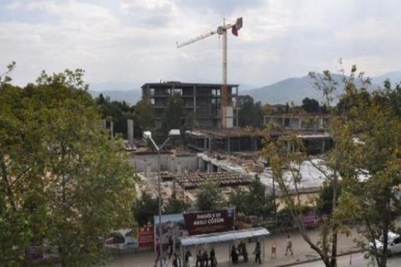 Bursa Belediye Hizmet Binası inşaatına durdurma kararı!