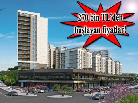 Seyran Şehir Anacadde Dükkanları 1 Haziran'da satışta!