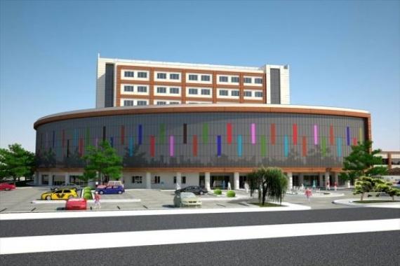Erzincan 250 yataklı devlet hastanesi inşaatı devam ediyor!