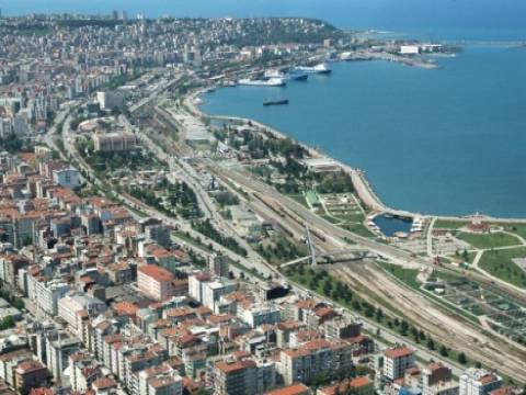 Samsun'da kamusal alan oluşturuluyor!