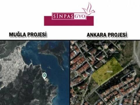 Sinpaş 2 yeni konut projesi inşa edecek!