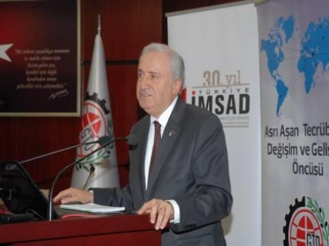 Türkiye İMSAD'da başkanlık görevine Fethi Hinginar geldi!