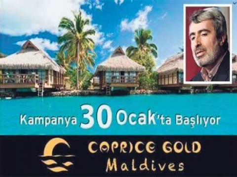 Caprice Gold Maldivler projesi iptal edildi!