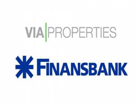 Finansbank ve Via Properties, 125 milyon Euro proje finansmanı anlaşması imzaladı!