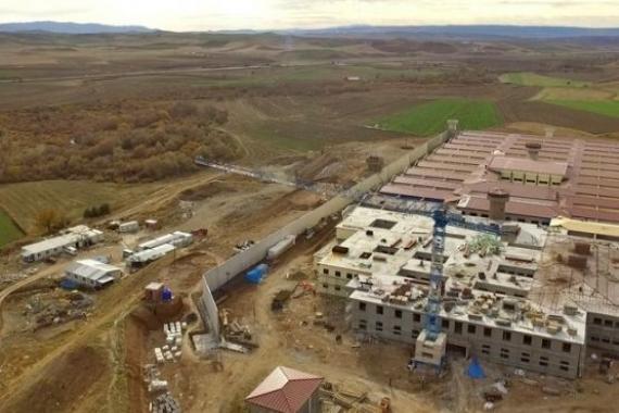 Sungurlu T Tipi Kapalı Cezaevi'nin inşaatı hızla devam ediyor!