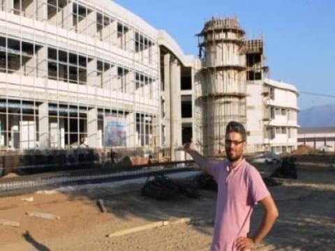 Ödemiş Devlet Hastanesi'nin inşaat çalışmaları durduruldu!