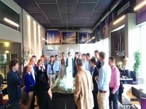 Varyap Hollandalı Tias Nimbas Business School öğrencilerini ağırladı!