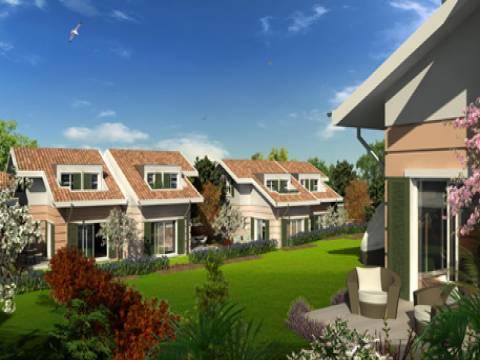 Pencerelerin koru manzarasına açıldığı evler satışta!