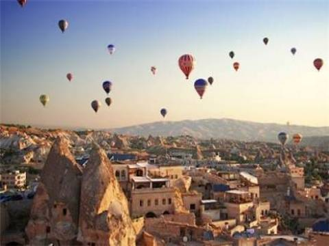 Kapadokya'ya 2 milyon turist geldi!