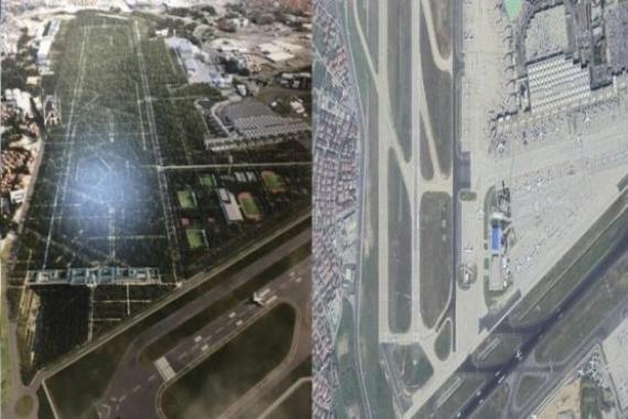 Atatürk Havalimanı'na yapılacak Millet Bahçesi böyle olacak!