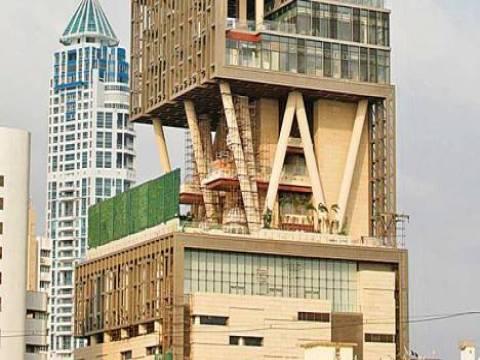 Dünyanın en pahalı evi Hintli Mukesh Ambani'nin Mumbai'deki evi seçildi!