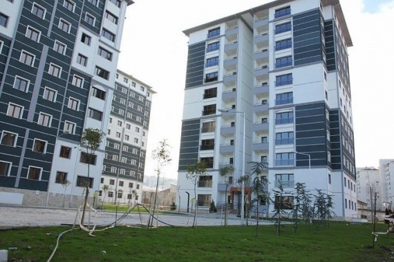 TOKİ Samsun Canik'te 71 konut sahiplerini buldu!