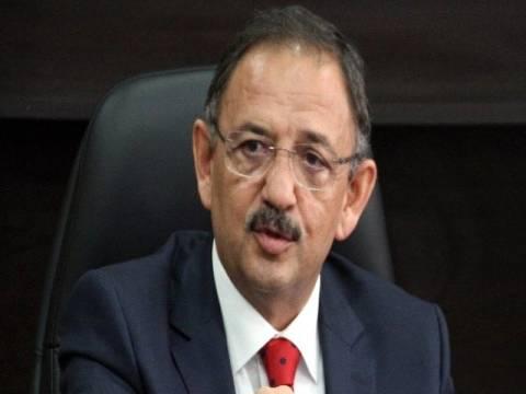 Mehmet Özhaseki:Türkiye toprakları deprem riski taşıyor!