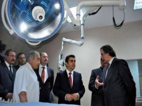Erciyes Üniversitesi Tıp Fakültesi Hastanesi'ne kurulan 3 yeni ünite hizmete açıldı!