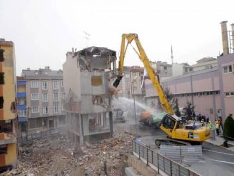 Bağcılar'da kentsel dönüşüm yıkım töreni bugün yapılacak!
