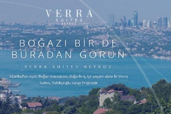 Tüfekçioğlu Grup'tan Verra Suites Beykoz geliyor! Yeni proje!