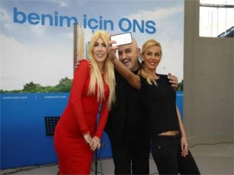 ONS İncek Residence projesini Hande Yener ziyaret etti!