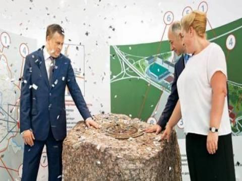 Rönesans İnşaat'ın Rusya'da kuracağı endüstriyel parkın temeli atıldı!