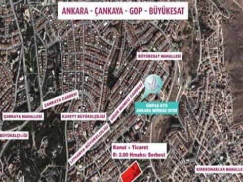 Sinpaş GYO Ankara Gaziosmanpaşa'daki arsasını 18 Ağustos'ta satıyor!