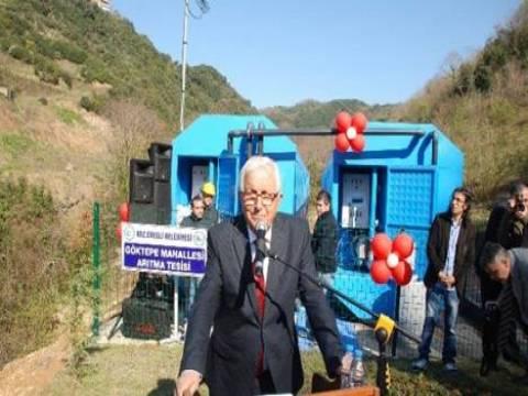 Kdz. Ereğli'de 9 arıtma tesisinin açılışı yapıldı!