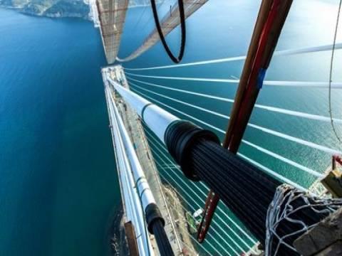 3. köprü ve Kuzey Marmara Otoyolu Projesi'nde üst yapı işlemleri tamamlanıyor!